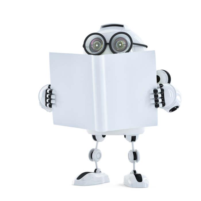 articulo.robot leyendo