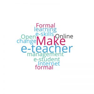 wordcloud e-teacher